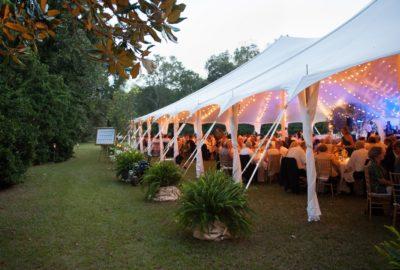 Blue Springs Tent Side